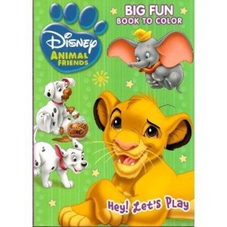 Disney Animal Coloring Books 2pcs