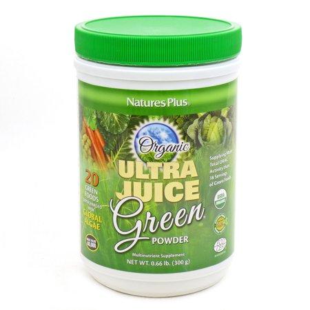 Organic green drink powder