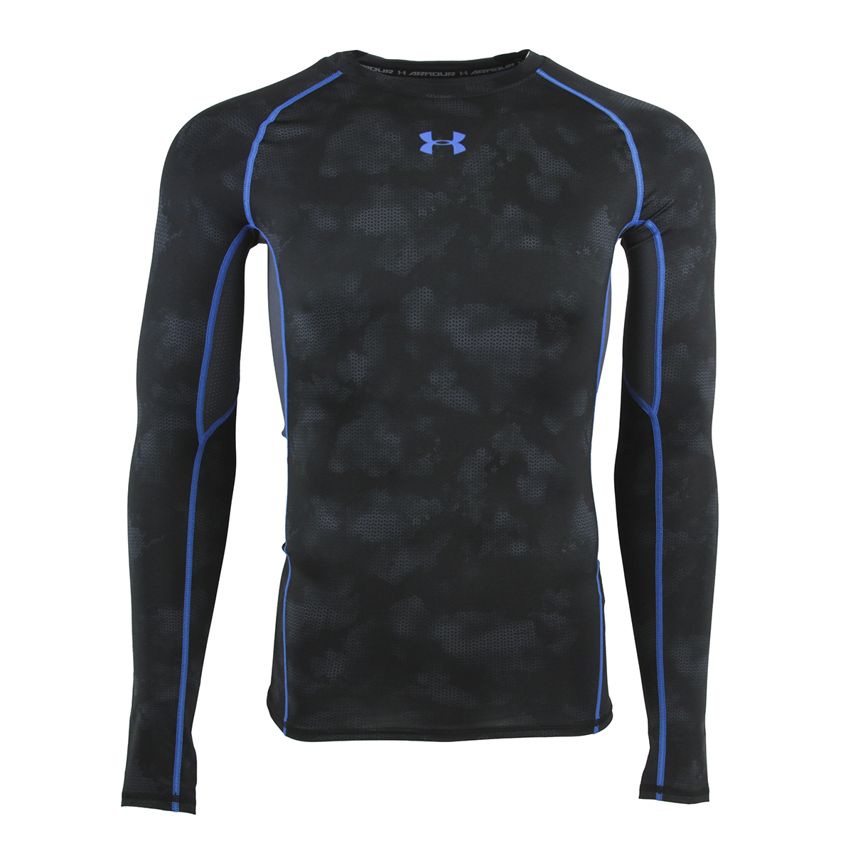 Under Armour Men's HeatGear Armour Printed Compression L/S Shirt