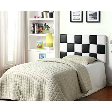 Best Master Furniture Tufted Vinyl Upholstered Headboard, Multiple Colors