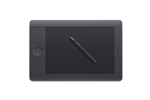 Wacom Intuos Pro Pen and Touch Small Tablet (PTH451) Medium, Medium Tablet by Brand