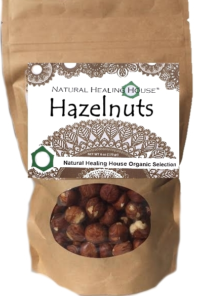 Hazelnuts Raw 6 oz by Natural Healing House by