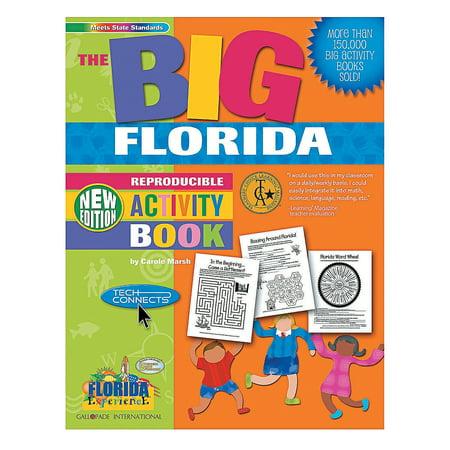 Fun Express - State Big Activity Book - fl - Educational - Teaching Aids - Misc Teaching Aids - 1 Piece ()
