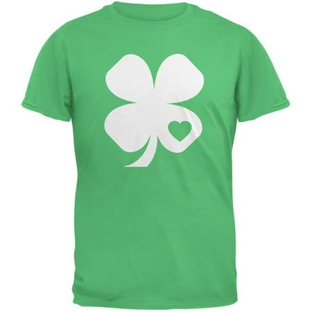 St. Patricks Day - Shamrock Heart Irish Green Youth T-Shirt](Patrick As A Girl)
