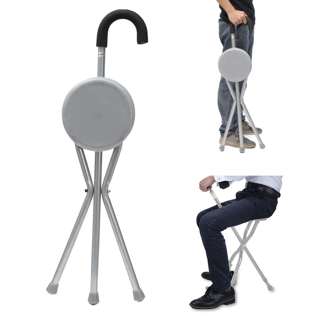 Folding cane seat walking aids products supplier malaysia