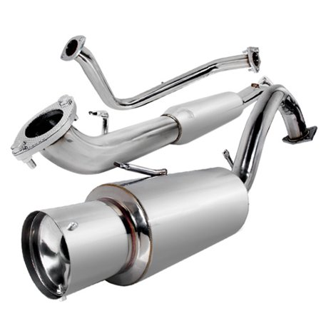 Modifystreet Racing Catback Exhaust System for 95-99 Mitsubishi Eclipse  RS/GS/Eagle Talon Non-Turbo 2 0L/2 4L