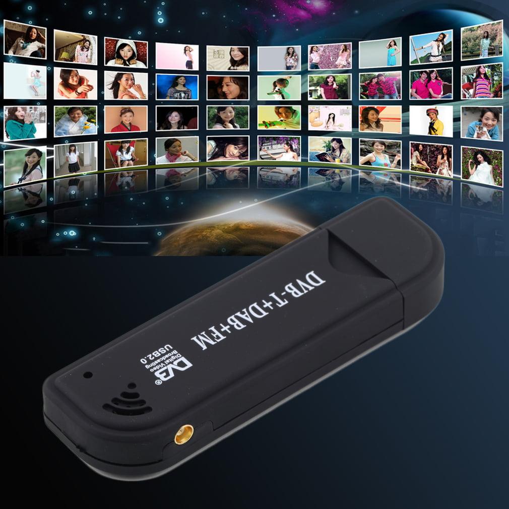 RTL2832U FC0012 DVB-T USB TV Tuner Receiver Support PC Satellite TV Receiver 128M RAM 6/7/8 MHz 800MHz CPU