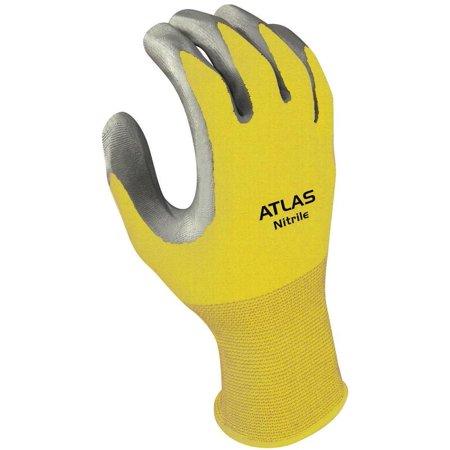 Showa Best Glove 3706CM-07. RT Medium 370 Nitril Clear (Best 1st Base Glove)