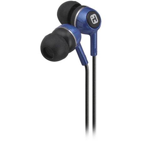 iHome IB25LC Earbud Headphones Blue