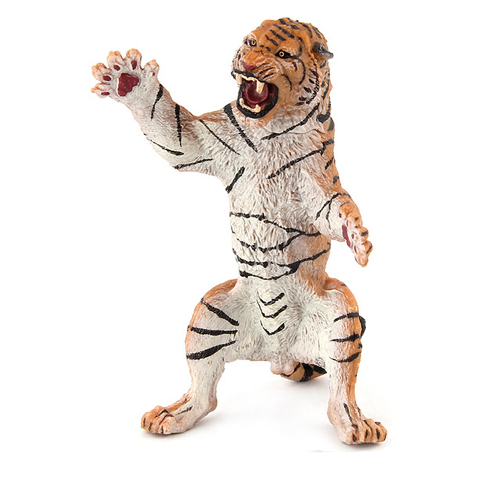 Mosunx Educational Simulated Tiger Model Children Toy Animal Gifts For Childrens
