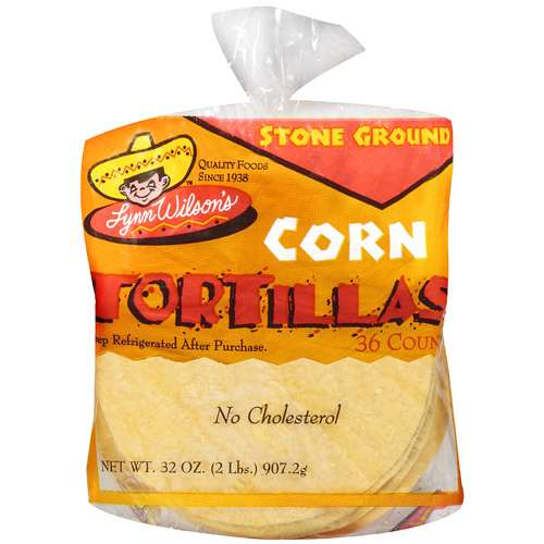Lynn Wilson's: Stone Ground Corn Tortillas, 32 oz