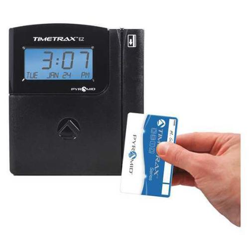 Digital Swipe Card Time Clock System, Pyramid, TTEZEK