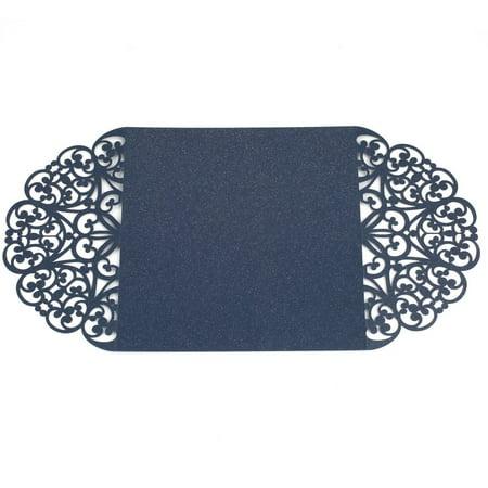 10Pcs Flower Wedding Invitation Cards Envelopes Seals Cover Wedding Decor - Wedding Envelope Seals