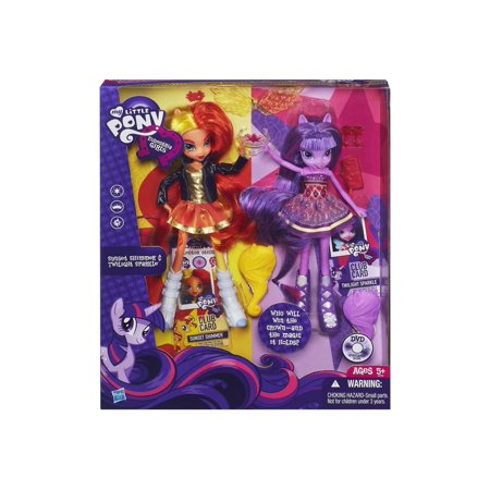 my little pony equestria girls sunset shimmer and twilight sparkle dolls (My Little Pony Twilight)
