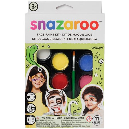 Snazaroo Face Painting Kit-Unisex - Female Face Painting For Halloween