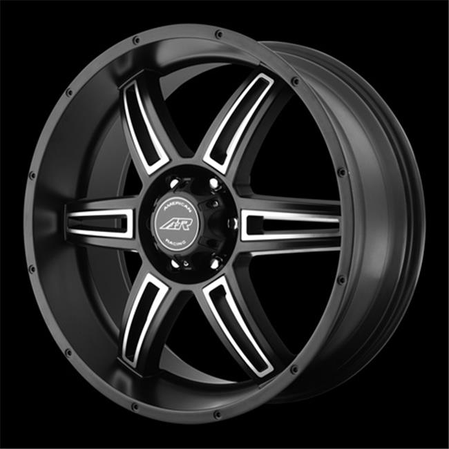 Wheel Pros 9088050700 Perform Ar890 Wheel - Satin Black Machined, 5 x 127. 00