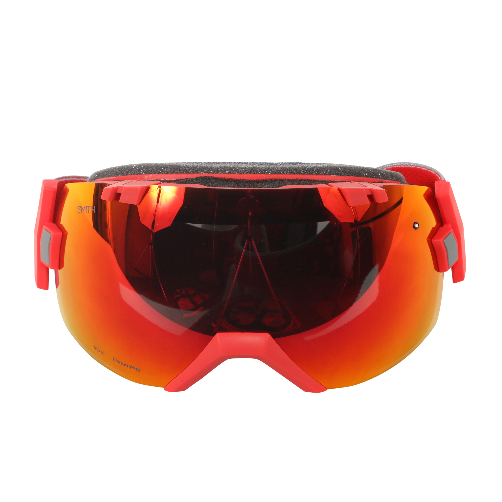 Smith Optics Fire Split ChromaPop Sun I OX Interchangeable Snow Goggles by Smith Optics
