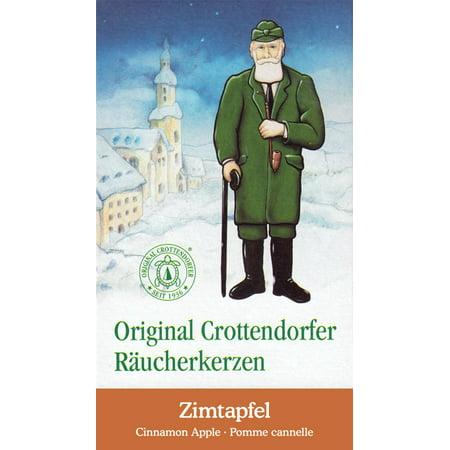 Crottendorfer Cinnamon Apple Scent German Incense Cones For Christmas Smokers ()
