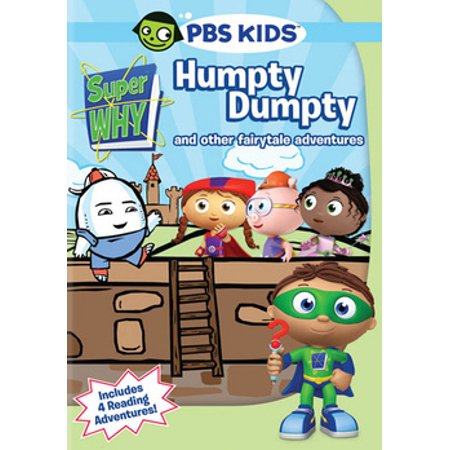 Super Why: Humpty Dumpty & Other Fairytale Adventures (DVD) (Super Why Halloween Part 1)