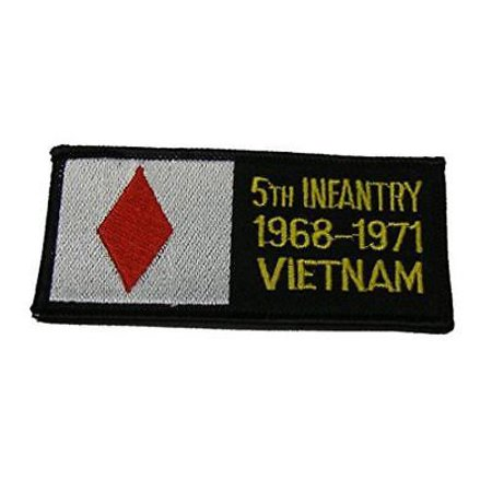 US ARMY FIFTH 5TH INFANTRY DIVISION MECHANIZED VIETNAM VETERAN 1968-71 PATCH
