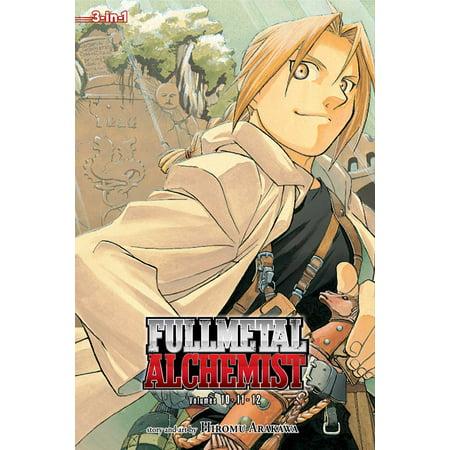 Fullmetal Alchemist (3-in-1 Edition), Vol. 4 : Includes vols. 10, 11 & (Including Metal)