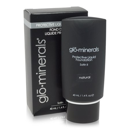 glominerals gloProtective Liquid Foundation Satin: (Glominerals Natural Foundation)