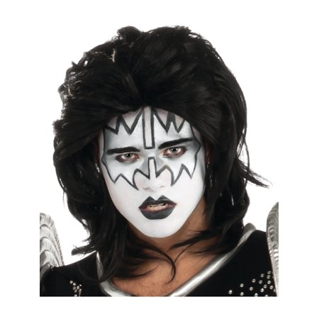 Child Kiss Ace Frehley The Spaceman Costume Rock Star Wig](Kid Rock Wig)