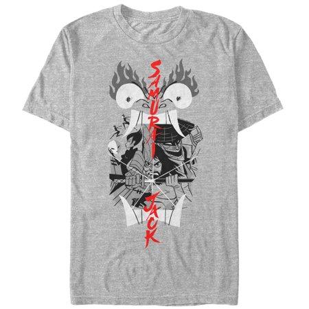 Samurai Jack Men's - Samurai Jack Katana Reflection T-Shirt](Jack Sparrow Shirt)
