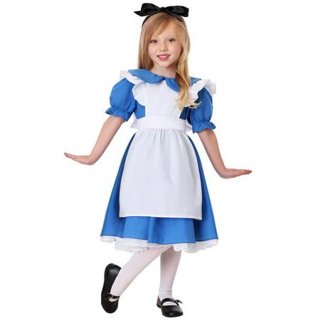 Deluxe Toddler Alice Costume - Deluxe Alice Costume