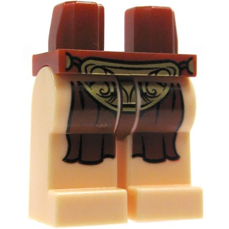 LEGO Star Wars Light Flesh with Dark Red Loincloth Loose Legs - Leg Wars