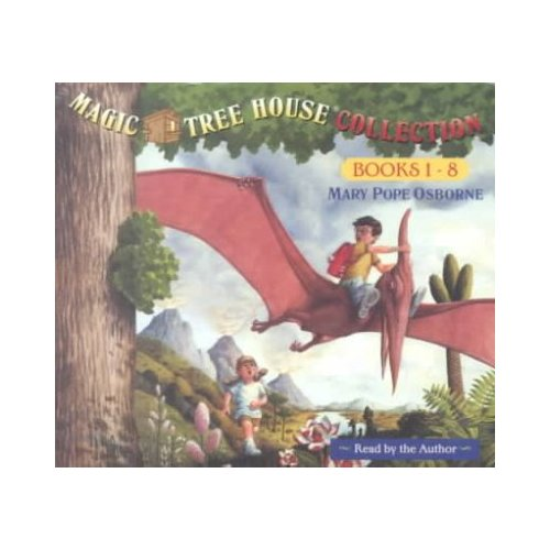 Magic Tree House Collection Books 1-8: Dinosaurs Before Dark/Knight at Dawn/Mummies in the Morning/Pirates Past Noon/Night of the Ninjas/Afternoon on the Amazon/Sunset of the Sabertooth/Mid