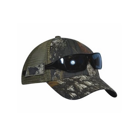 KC Caps Men's Realtree Camo Camouflage Hat with Sunglasses Holder [US Patented] Next Century Cap