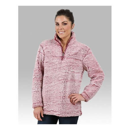 Boxercraft Unisex Sherpa Quarter-Zip Pullover (Womens Run Half Zip Pullover C9 Champion)