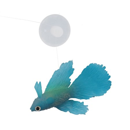 Aquarium fish tank suction cup simulated floating betta for Betta fish floating