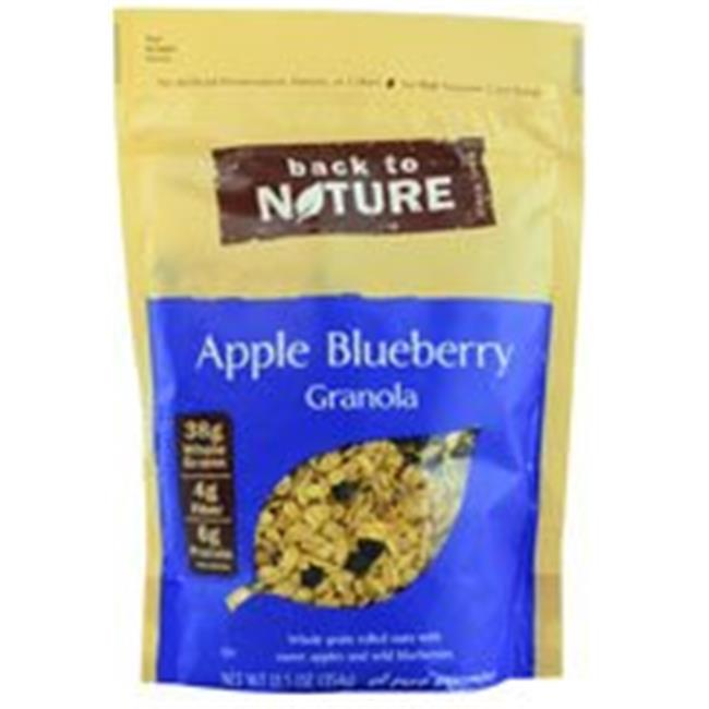 Back To Nature Granola Apple Blueberry 12. 5 Oz (Pack of 6)