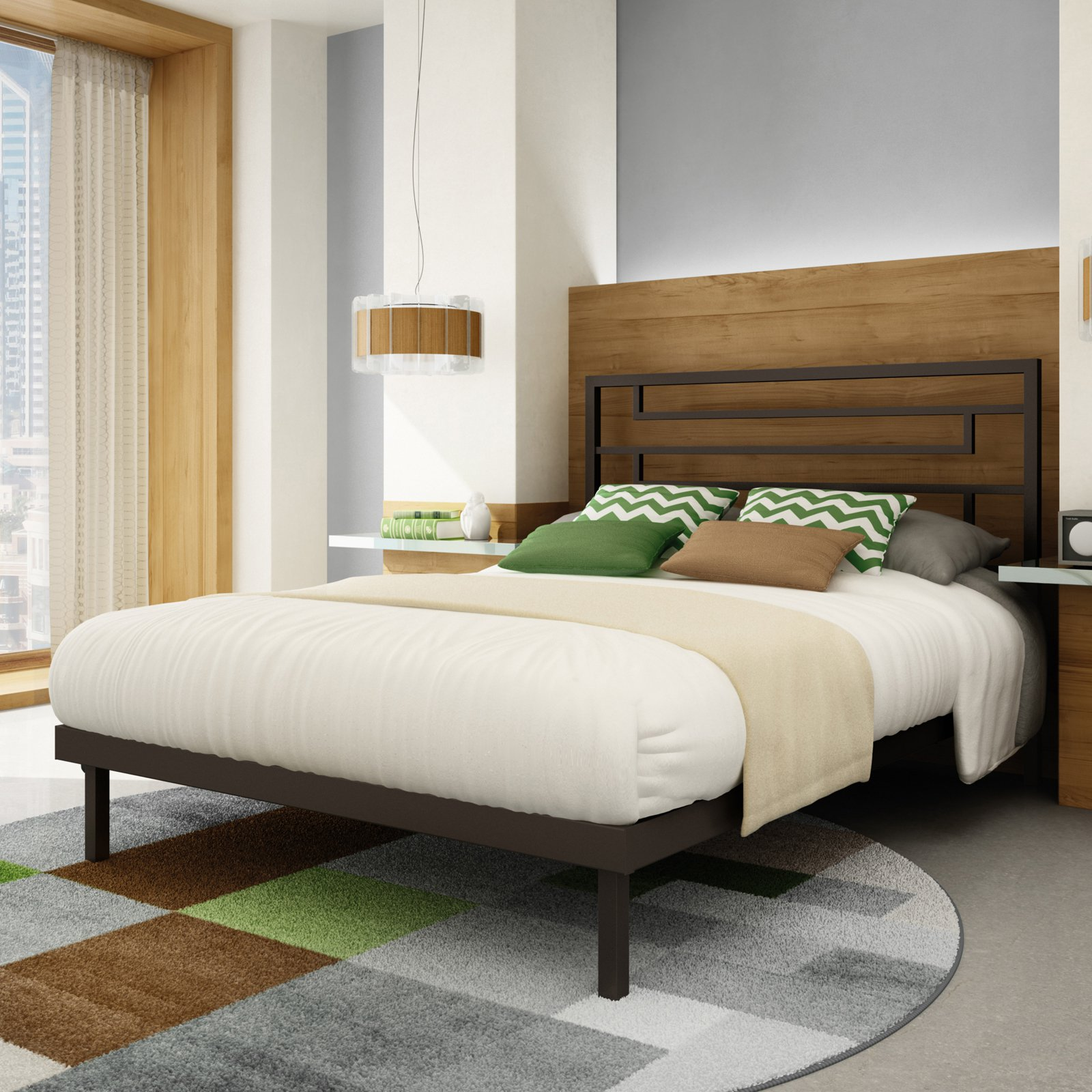 Amisco Temple Platform Bed