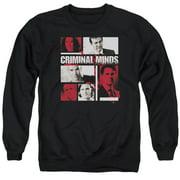 Criminal Minds Character Boxes Mens Crewneck Sweatshirt