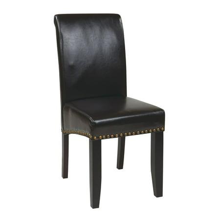 OSP Designs Metro Parsons Nailhead Dining Chair