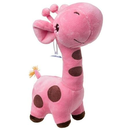 Cute Plush Toy Giraffe Stuffed Toy Pink /25cm (Cute Giraffe)