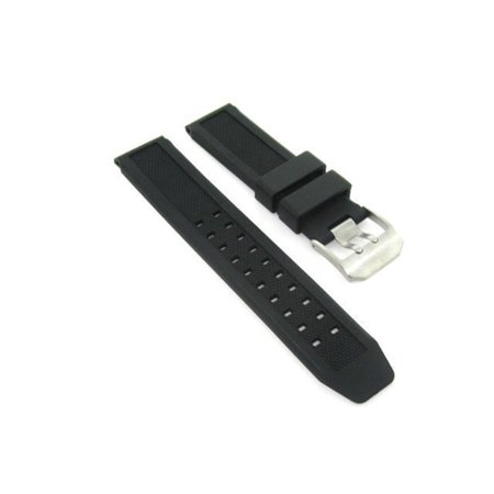 22MM RUBBER WATCH BAND STRAP FOR CITIZEN U600 S041341 HST SKYHAWK AT #2 22mm Rubber Strap