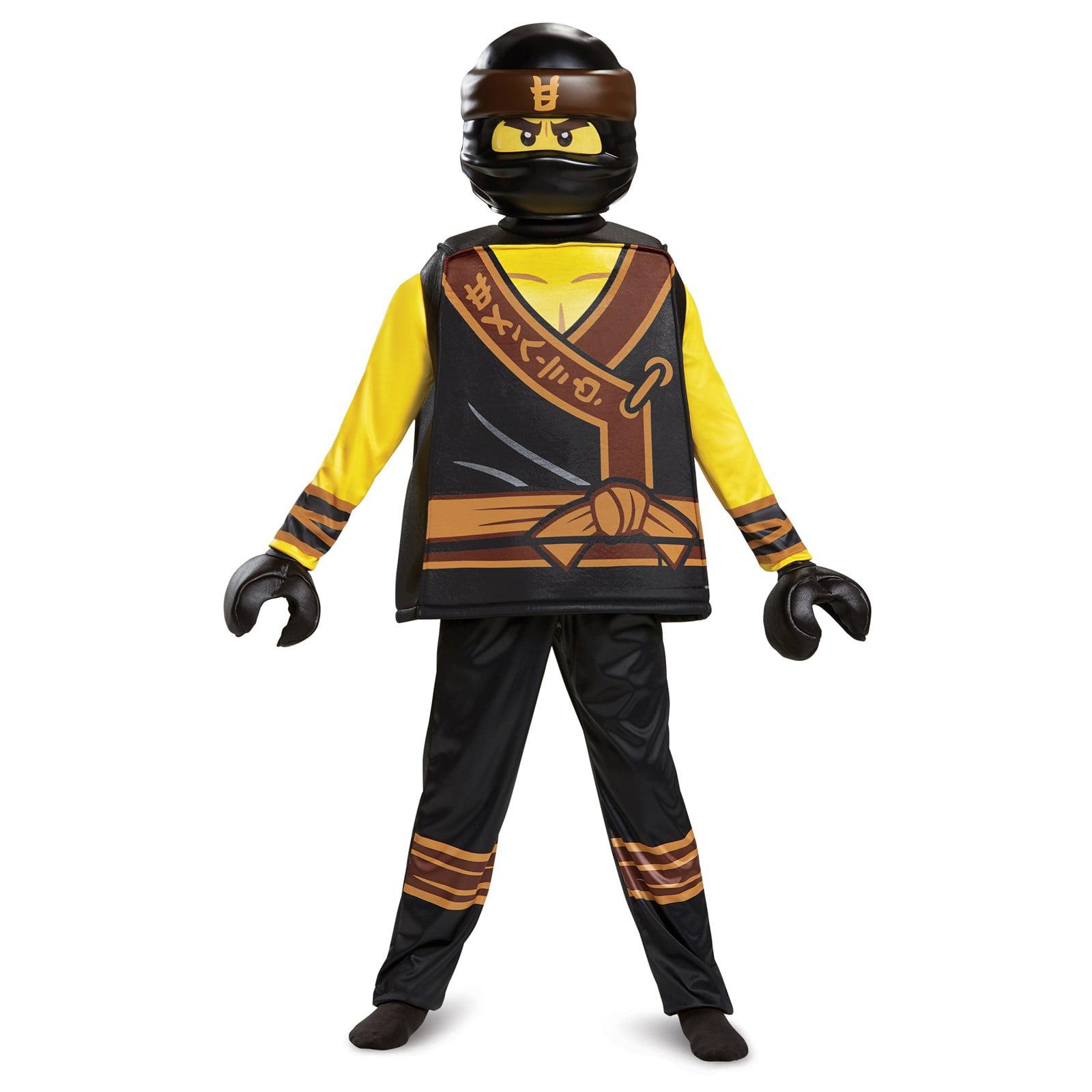 Lego Ninjago Movie Zane Prestige Boys Costume