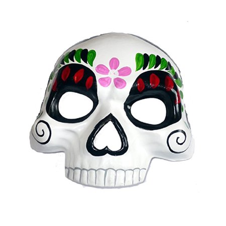 Ladies Day of Dead Mask Día de la Mujer de la máscara muerta Costume Sugar Skull - Day Of The Dead Costume Mask