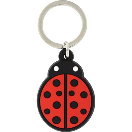 Hillman Group 701549 Ladybug PVC Key Chain - 5 Piece
