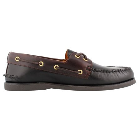 Sperry STS12955: Men's Gold A/O 2-Eye Leather Loafers (Sperrys Loafers Men)
