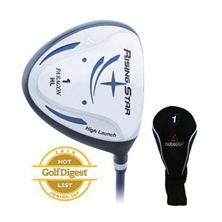 Paragon Golf Rising Star Kids Junior Driver Ages 11-13 Blue / Left-Hand ()