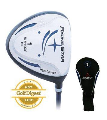 Paragon Golf Rising Star Kids Junior Driver Ages 11-13 Blue / Left-Hand