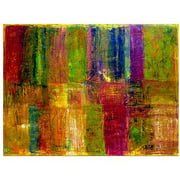 "Trademark Fine Art ""Color Panel Abstract"" by Michelle Calkins, 35x47"