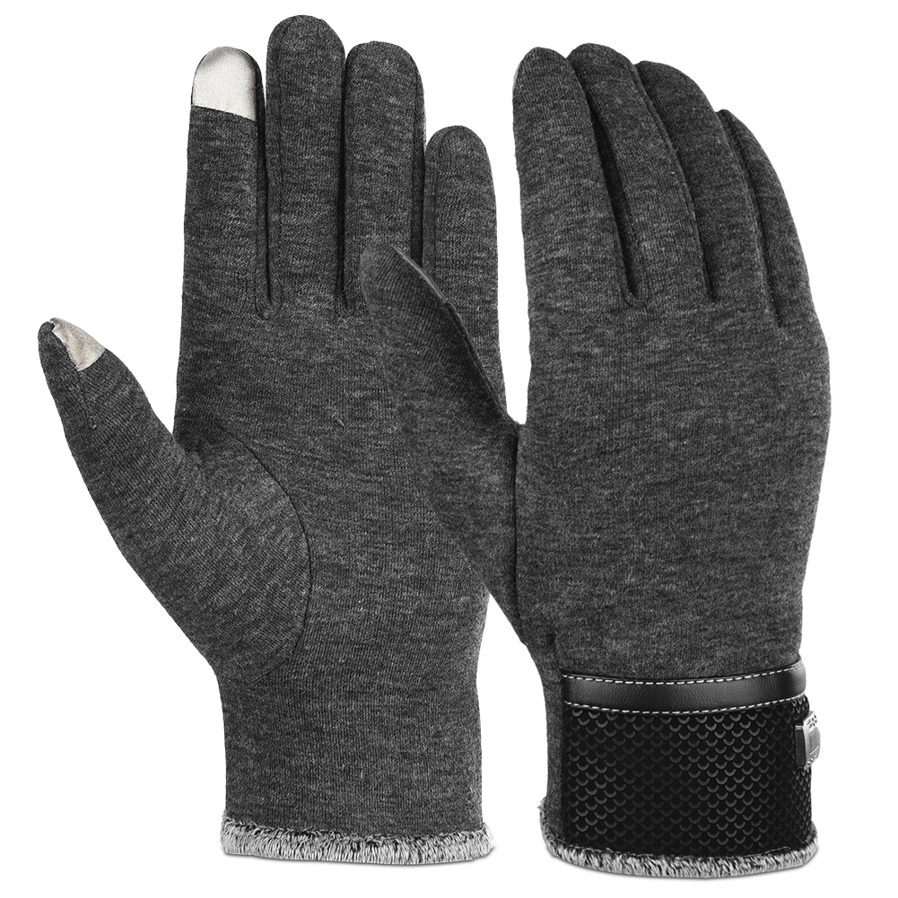 Winter Warm Gloves Anti Slip Touch Screen Gloves Windproof Thermal Gloves Cold Weather Camping Hiking Gloves for Men Women