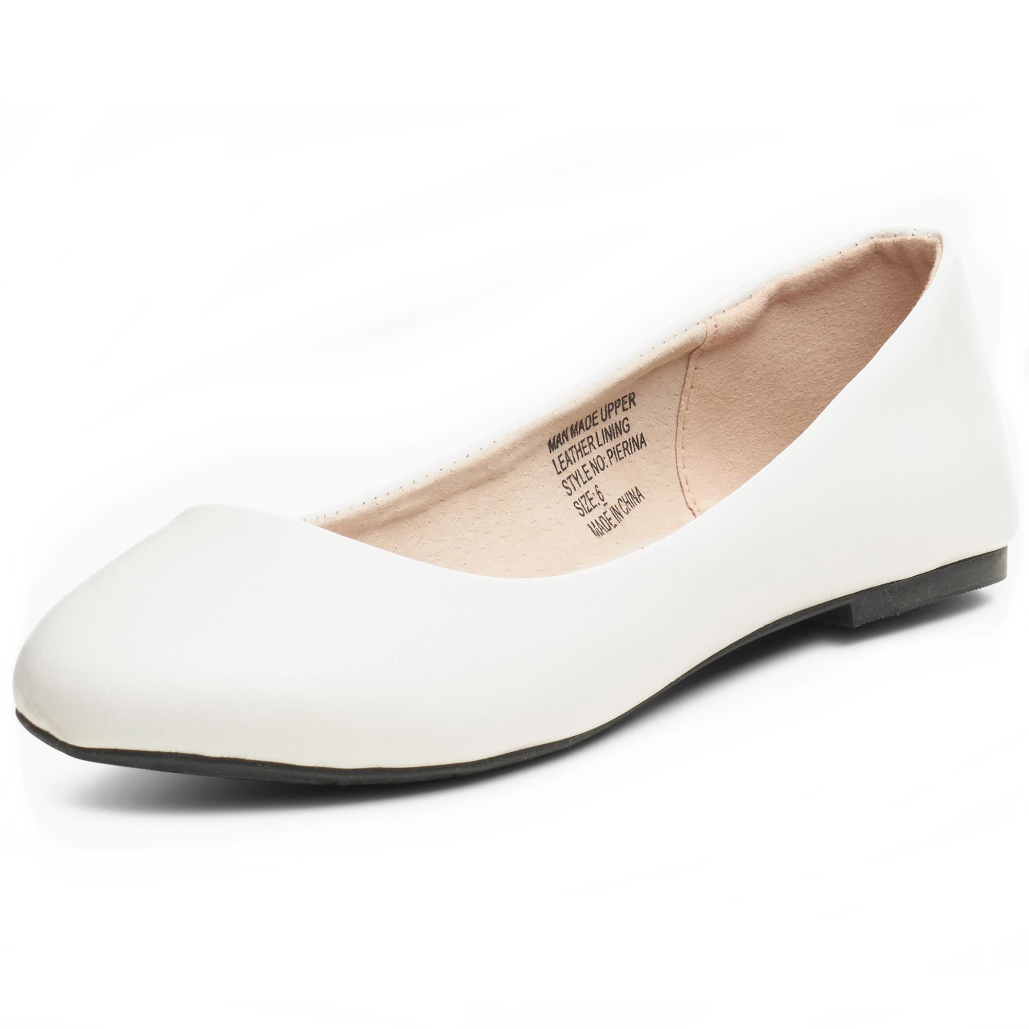 Alpine Swiss Pierina Women's Ballet Flats Leather Lined Classic Slip On Shoes