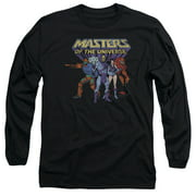 Masters Of The Universe Team Of Villains Mens Long Sleeve Shirt